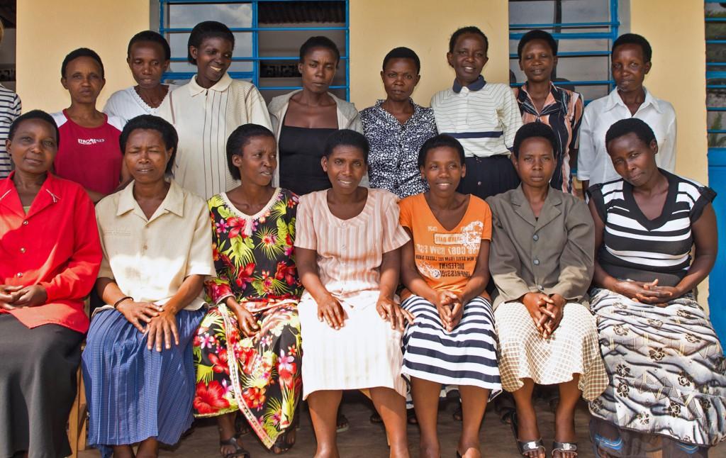 Le projet Ibaba Rwanda, photo de l'équipe, noheli Nziza