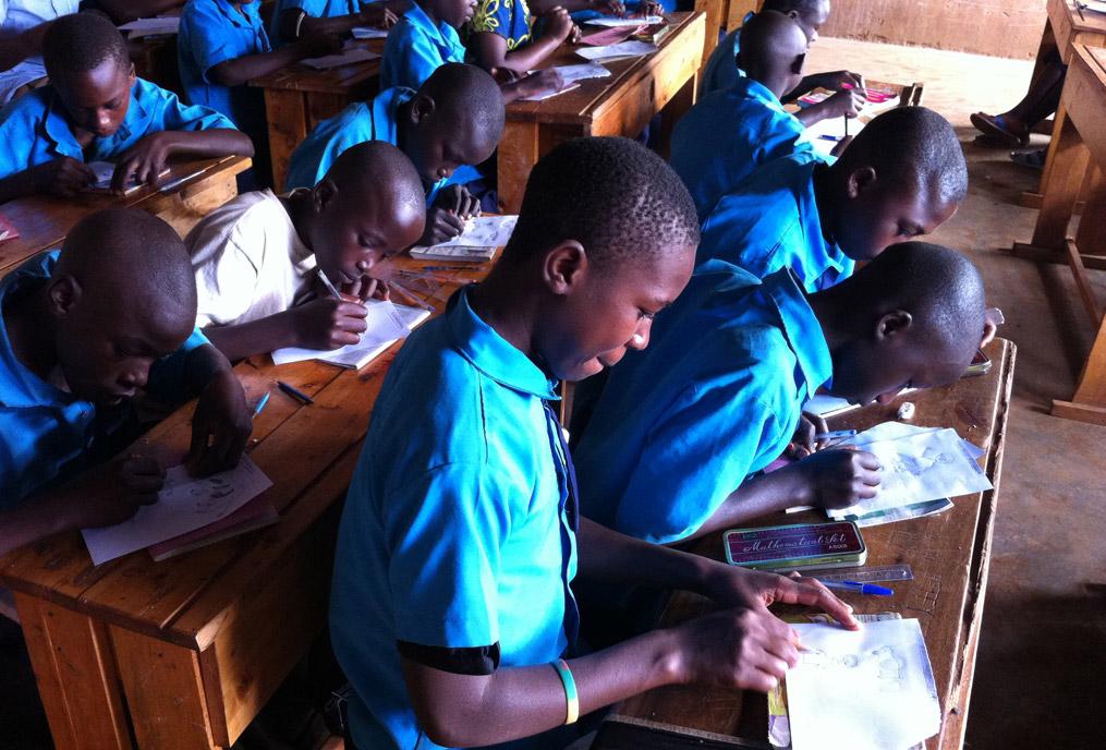 Concours de dessin Ibaba Rwanda 2013