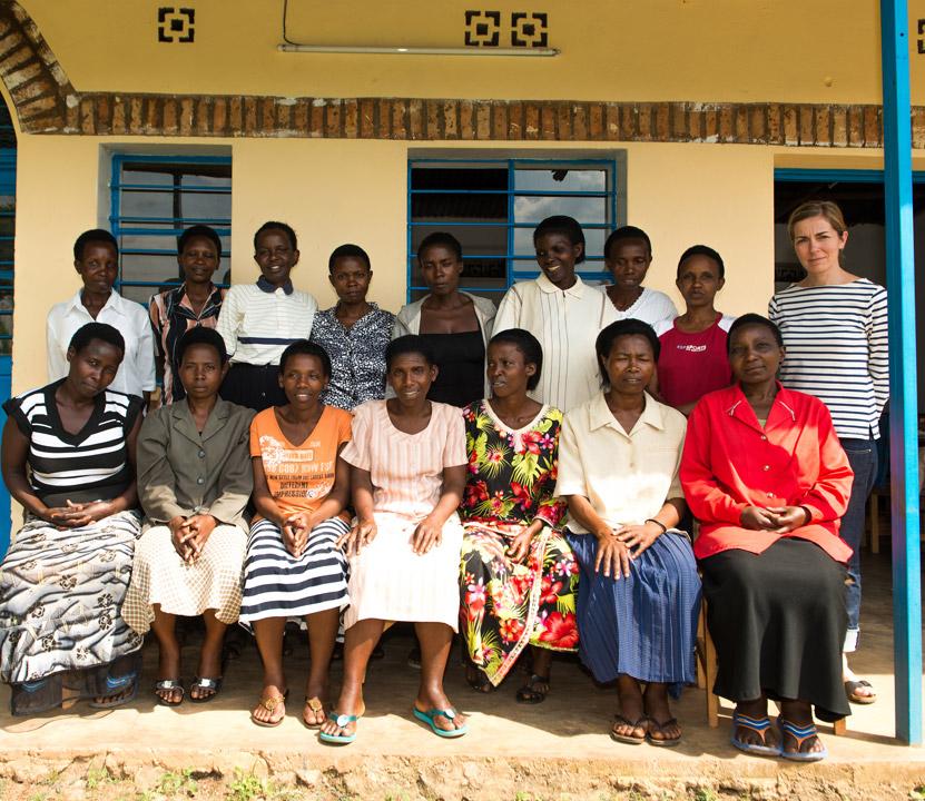 Photo de l'équipe des ateliers Ibaba Rwanda de Rutongo