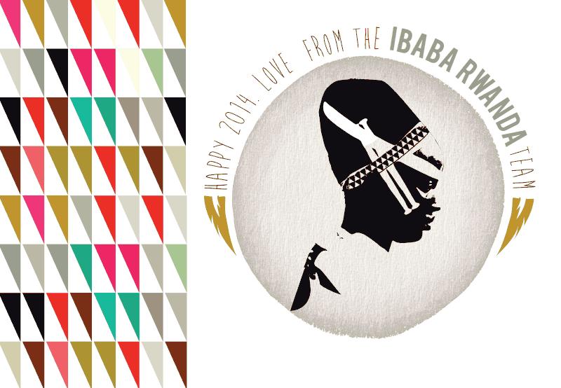 carte de Voeux 2014 IBABA RWANDA
