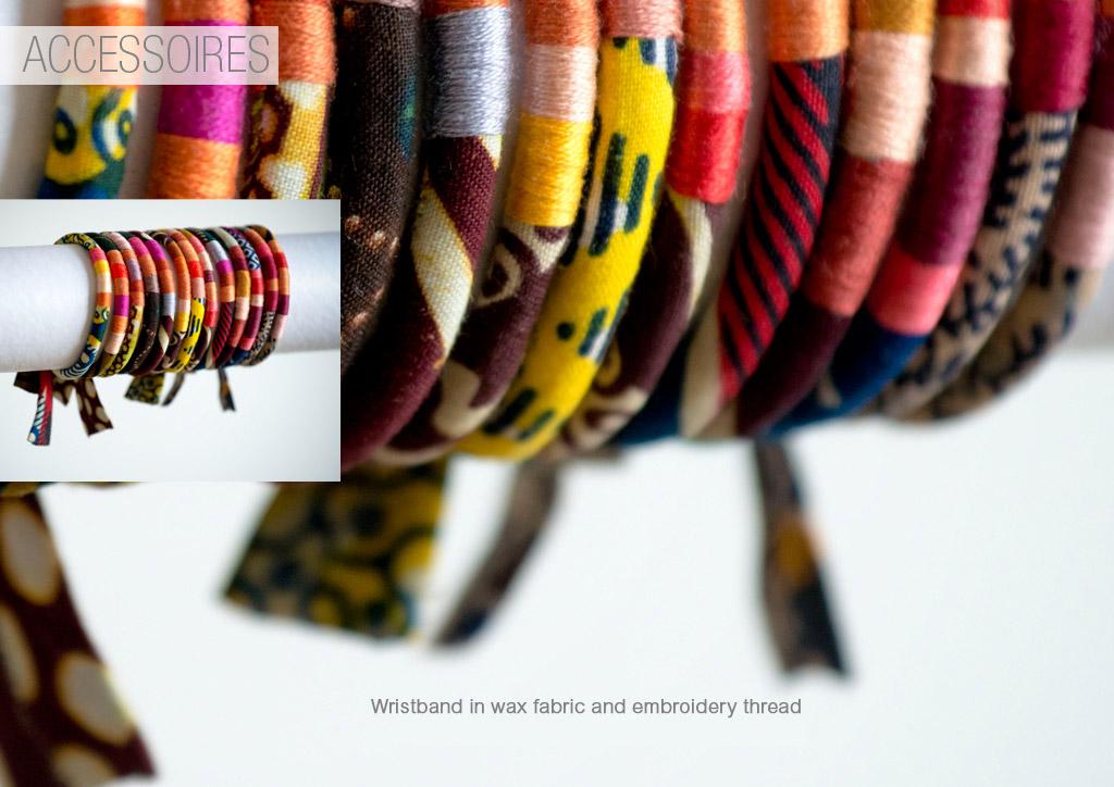Wristband in wax Ibaba Rwanda